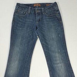 Seven7 Jeans - Seven7 Bootcut Paint Splatter Jeans Size 27